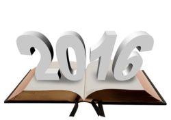 book-2016 year